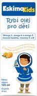 Eskimo Kids Rybí olej pro děti, s pomerančovou příchutí 105ml