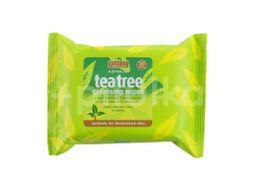Beauty Formulas Tea tree čistící ubrousky na obličej 30ks