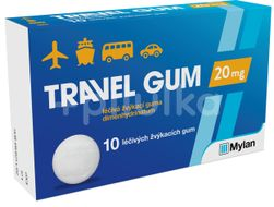 Travel-Gum 20mg 10ks