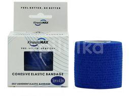 KinesioMAX Cohesive elast.samofix. 5cmx4.5m modré