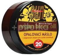 Sun Vivaco SUN Bronz Opalovací máslo SPF20 s arganovým olejem 200ml