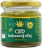 Zelená země CBD kokosový olej 1000mg/CBD