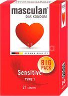 Masculan Kondomy Sensitive Big Pack 21ks