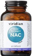 Viridian High Potency NAC 60 kapslí
