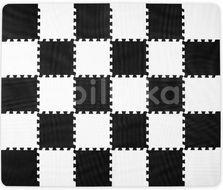 Kinderkraft Podložka pěnové puzzle Luno Black 30ks