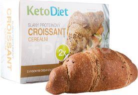 KetoDiet Proteinový croissant cereální slaný 2ks