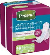 Depend Active-Fit Mini Inkontinenční vložky 14ks