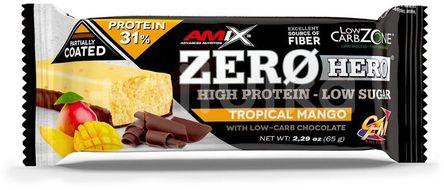 Amix Zero Hero 31% Protein Bar, Mango, 65g