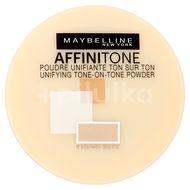 Maybelline Affinitone zmatňující a fixační pudr 03 Light Sand 9g