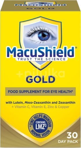 Macushield Gold 30 Day Pack 90 tablet