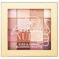 L'Oréal Paris Emotions of Nu Palette paletka očních stínů 15g