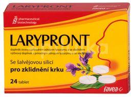 Larypront se šalvějovou silicí 24 tablet