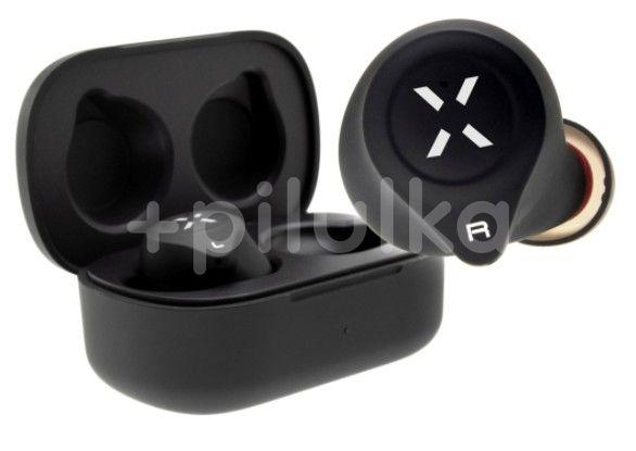 FIXED TWS Sluchátka Boom HD s bezdrátovým nabíjením černá