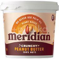 Meridian Arašídové máslo křupavé 1000g