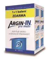 Argin-IN pro muže tobolky 45 + Argin-IN tobolky 45 zdarma