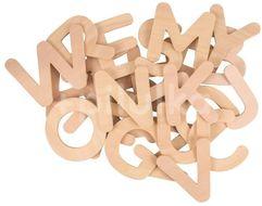 Bigjigs Toys Dřevěná abeceda velká písmena
