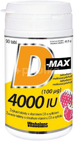 Vitabalans D-Max 4000 IU 90tbl.