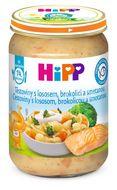 HiPP MENU BIO Těstoviny s lososem, brokolicí a smetanou 250g