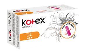 KOTEX Tampony Normal 16ks