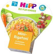 HiPP Mini-Rigatoni se zeleninou ve smetanové omáčce 250g