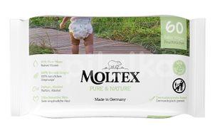 Moltex Pure & Nature EKO vlhčené ubrousky na bázi vody 60ks
