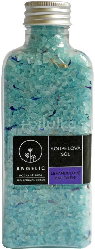 Angelic Koupelová sůl, Levandulové zklidnění 260g