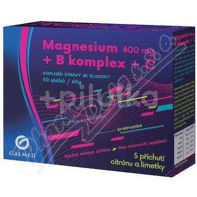 Galmed Magnesium 400 mg + B komplex + C 30 sáčků