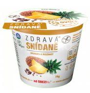 Obezin zdravá snídaně - Ananas a rozinky 78g