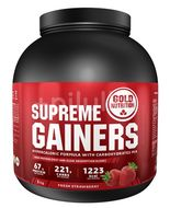 GoldNutrition Supreme Gainers různé varianty