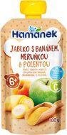 Hamánek Jablko s banánem, meruňkou a polentou 100g