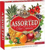 BASILUR Fruit Infusions Assorted 40 gastro sáčků