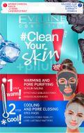 Eveline Clean Your Skin pleťová čistící maska 2x5ml