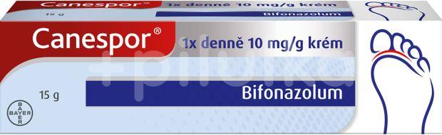 Canespor 1x denně 10 mg/g krém, 15g