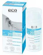 Eco Cosmetics Opalovací krém Neutral bez parfemace SPF 20 BIO 100ml
