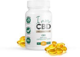 I am CBD Full spectrum CBD 1500 mg 60 kapslí