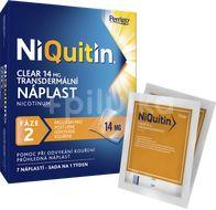 Niquitin Clear NiQuitin nikotinová náplast 14mg 7ks - Fáze 2