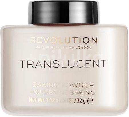 Revolution Loose Baking Translucent pudr 32g