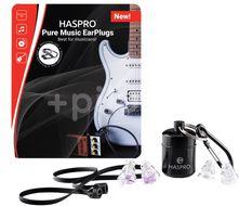 Haspro Pure Music špunty do uší pro muzikanty, fialové S/M 2 páry