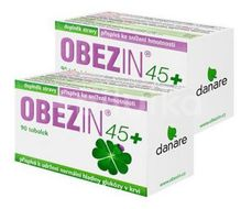 OBEZIN45+ duopack 180 tobolek