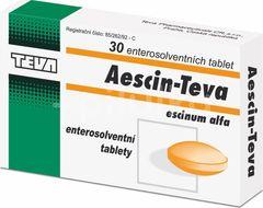 Aescin-Teva 20mg 30 perorálních tablet