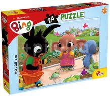 Liscianigioch Žába puzzle 24 dílků Bing
