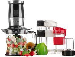 Concept Fresh&Nutri Černý smoothie mixér, chopper, mlýnek + 2 lahve 570ml+400ml