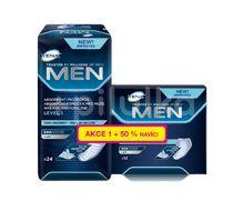 TENA Men Absorbent protector Level 1 Inkontinenční vložky 24+12ks