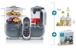 Babymoov,Multifunkční přístroj Nutribaby+ Industrial Grey+Foodii