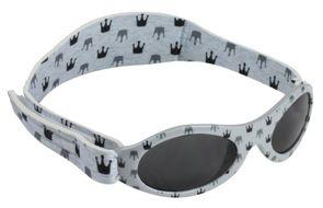 BabyBanz sluneční brýle Light Grey Crowns